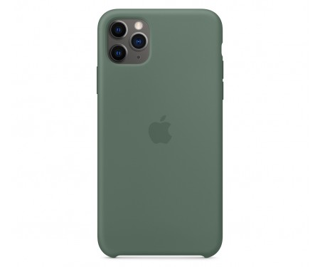 Чехол для Apple iPhone 11 Silicone Case Pine Green Copy