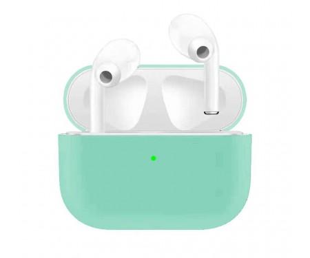 Чехол для Airpods Pro Ultrathin Silicon case Mint Green