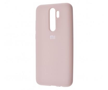 Чехол для Xiaomi Redmi Note 8 Pro Silicone Cover Pink Sand