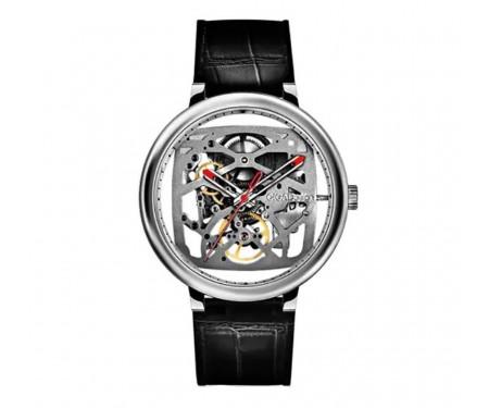 Часы Xiaomi CIGA Design Creative Leather Strap Automatic Mechanical Silver