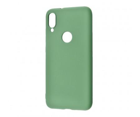Чехол для Samsung Galaxy A30 Silicone Cover Dark Olive