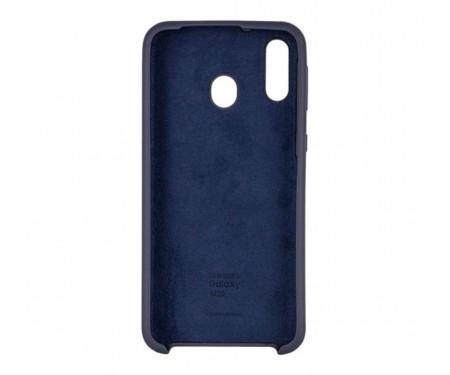 Чехол для Samsung Galaxy A30 Silicone Cover Midnight Blue