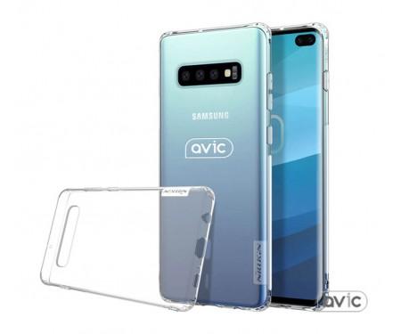 Чехол для Samsung Galaxy S10 Plus case Nillkin Nature Series TPU Avic