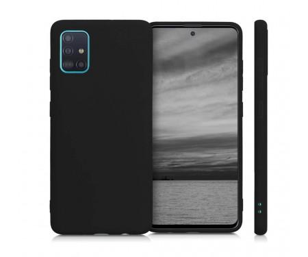 Чехол для Samsung Galaxy A51 WAVE Full Silicone Cover Black