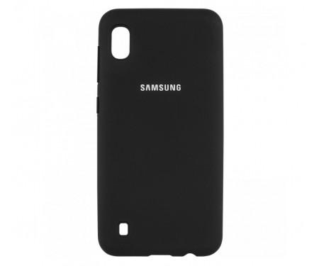Чехол для Samsung Galaxy M10 Silicone Cover Black