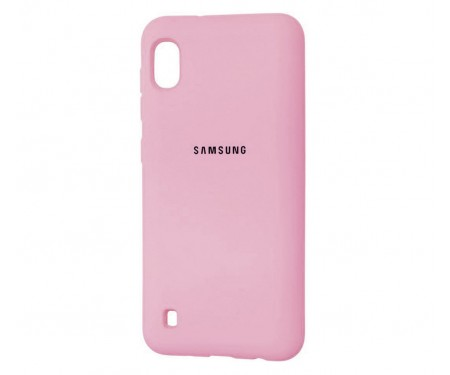 Чехол для Samsung Galaxy M10 Silicone Cover Pink Sand