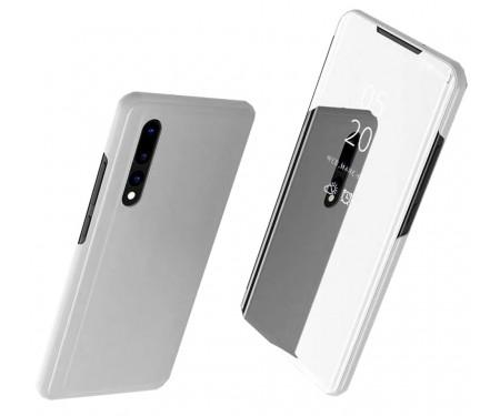 Чехол-книжка для Xiaomi Redmi Note 8 Silver