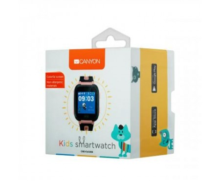 Смарт-часы CANYON CNE-KW21RR Kids smartwatch Pink (CNE-KW21RR) 3