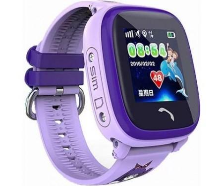 Смарт-часы UWatch DF25 Kids waterproof smart watch Purple (F_52339) 3