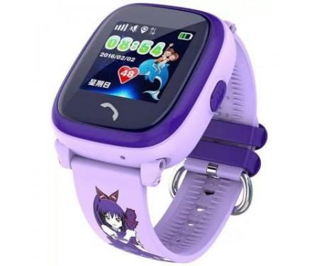 Смарт-часы UWatch DF25 Kids waterproof smart watch Purple (F_52339) 4