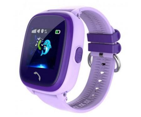 Смарт-часы UWatch DF25 Kids waterproof smart watch Purple (F_52339) 0