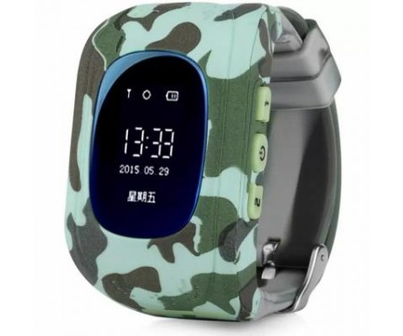 Смарт-часы UWatch Q50 Kid smart watch Light Military (F_53047) 0