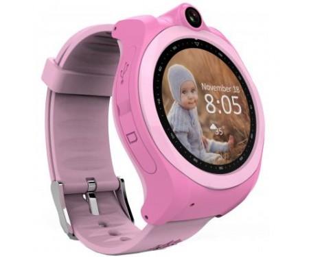 Смарт-часы GoGPS ME K19 Розовые (K19PK) 0