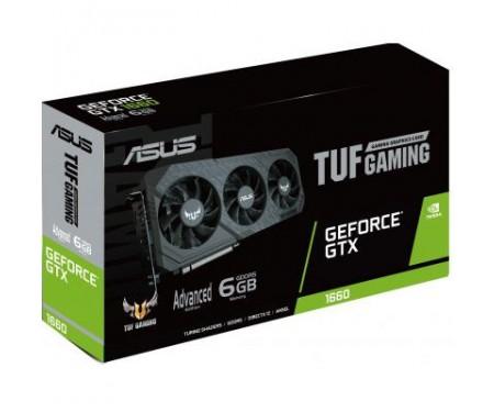Видеокарта ASUS GeForce GTX1660 6144Mb TUF3 Advanced GAMING (TUF3-GTX1660-A6G-GAMING) 8