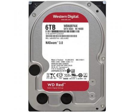 Жесткий диск 3.5 6TB Western Digital (WD60EFAX) 1