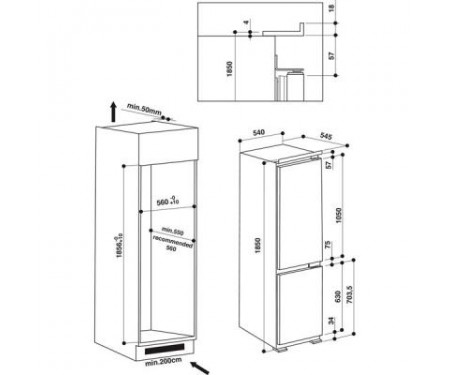 Холодильник Hotpoint-Ariston BCB 7525 AA (BCB7525AA) 1