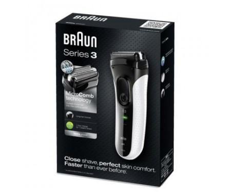 Электробритва BRAUN 3020 White Series 3 (Series 3 3020 White) 3