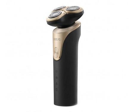 Электробритва мужская SOOCAS Electric Shaver S3 Black/Gold