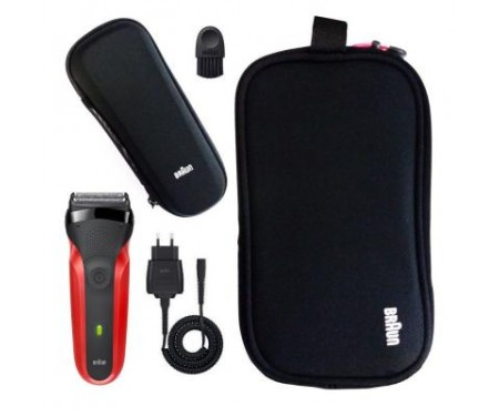 Электробритва BRAUN Series 3 300 TS Red Gift Edition 2