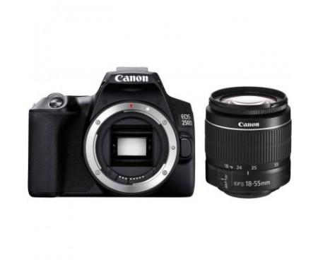 Фотоаппарат Canon EOS 250D 18-55 DC III Black kit (3454C009) 0