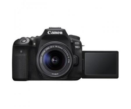 Фотоаппарат Canon EOS 90D + 18-55 IS STM (3616C030) 1
