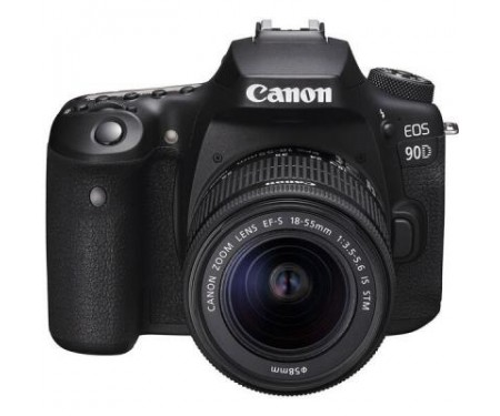 Фотоаппарат Canon EOS 90D + 18-55 IS STM (3616C030) 2