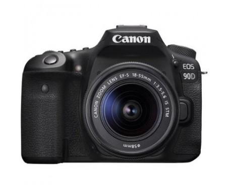 Фотоаппарат Canon EOS 90D + 18-55 IS STM (3616C030) 8