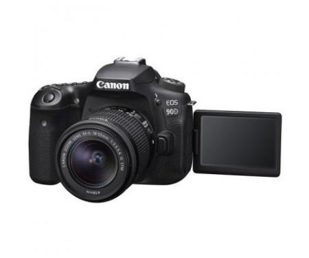 Фотоаппарат Canon EOS 90D + 18-55 IS STM (3616C030) 0