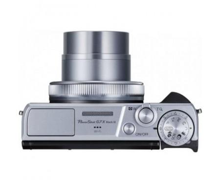 Фотоаппарат Canon Powershot G7 X Mark III Silver (3638C013) 9