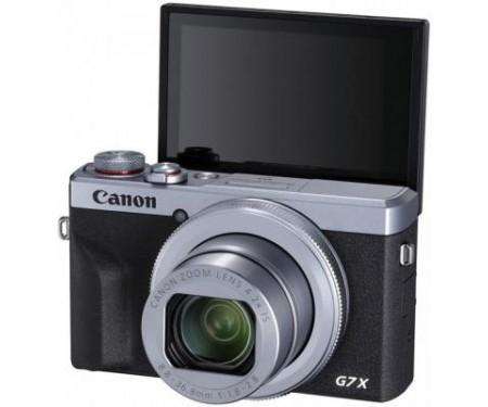Фотоаппарат Canon Powershot G7 X Mark III Silver (3638C013) 3