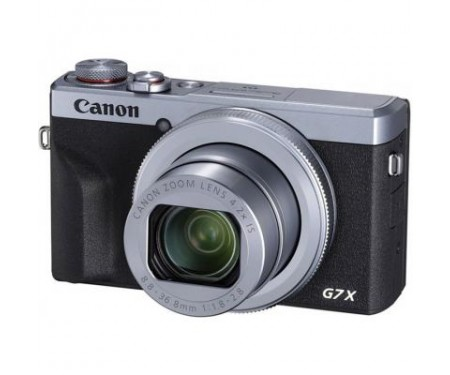 Фотоаппарат Canon Powershot G7 X Mark III Silver (3638C013) 0