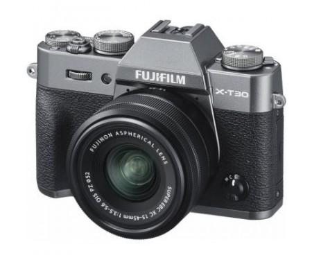 Фотоаппарат Fujifilm X-T30 + XC 15-45mm F3.5-5.6 Kit Charcoal Silver (16619401) 0
