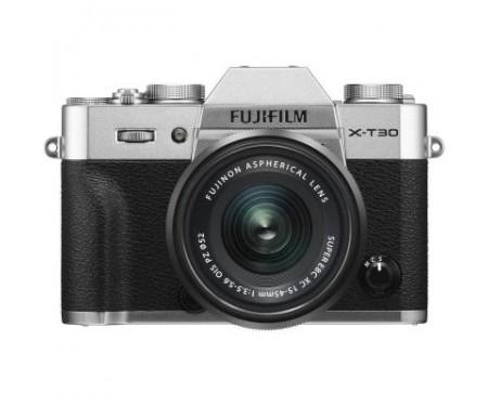 Фотоаппарат Fujifilm X-T30 XC 15-45mm F3.5-5.6 Kit Silver (16619126) 1