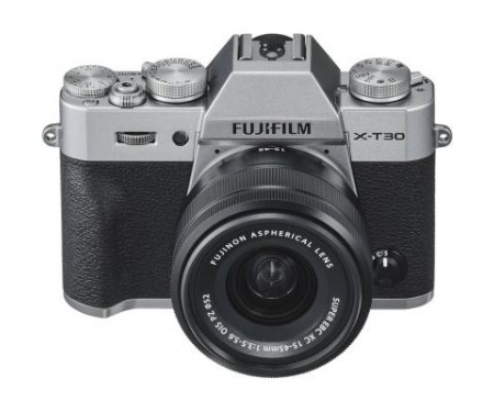 Фотоаппарат Fujifilm X-T30 XC 15-45mm F3.5-5.6 Kit Silver (16619126) 3