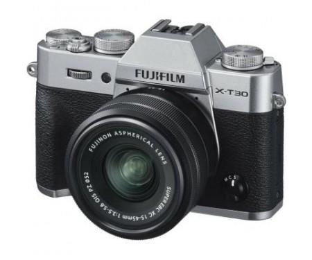 Фотоаппарат Fujifilm X-T30 XC 15-45mm F3.5-5.6 Kit Silver (16619126) 0
