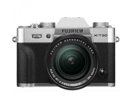 Фотоаппарат Fujifilm X-T30 XF 18-55mm F2.8-4R Kit Silver (16619841) 1