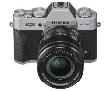 Фотоаппарат Fujifilm X-T30 XF 18-55mm F2.8-4R Kit Silver (16619841) 4