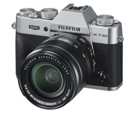 Фотоаппарат Fujifilm X-T30 XF 18-55mm F2.8-4R Kit Silver (16619841) 0