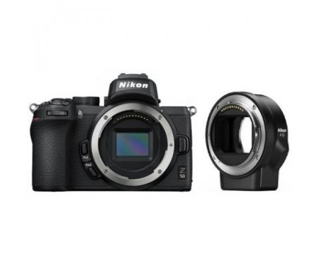 Фотоаппарат Nikon Z50 + FTZ adapter (VOA050K003) 0