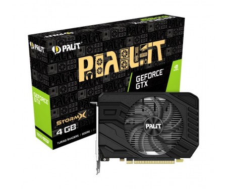 Видеокарта GF GTX 1650 Super 4GB GDDR6 StormX Palit (NE6165S018G1-166F)