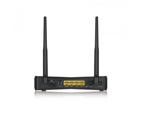 Беспроводной маршрутизатор ZYXEL LTE3301 PLUS (LTE3301-PLUS-EU01V1F) (AC1200, 3xGE LAN, 1хGE LAN/WAN, 1хUSB, 1xSim, LTE cat6)