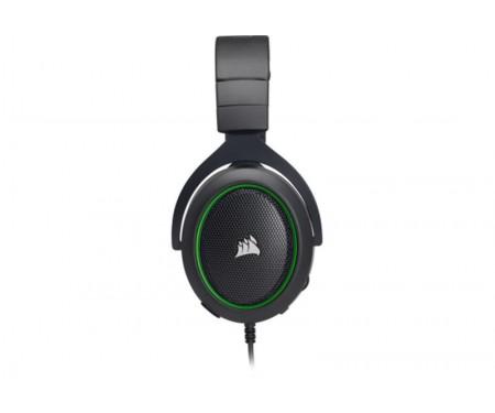 Гарнитура Corsair HS50 Black/Green (CA-9011171-EU)