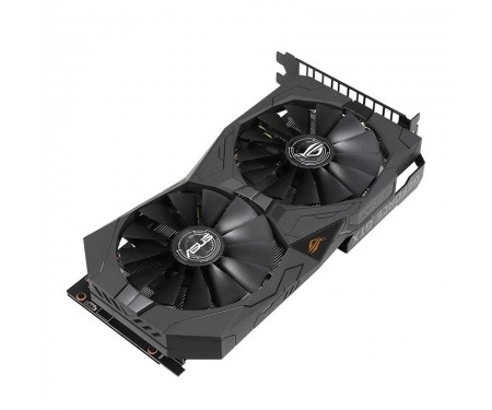 Видеокарта GF GTX 1650 4GB GDDR5 ROG Strix Gaming OC Asus (ROG-STRIX-GTX1650-O4G-GAMING)