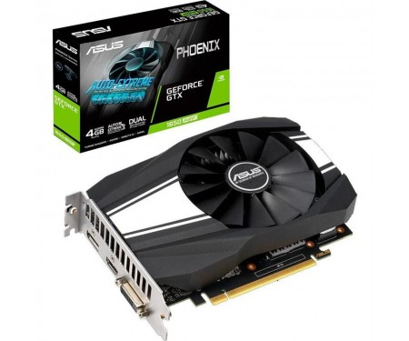 Видеокарта GF GTX 1650 Super 4GB GDDR6 Phoenix Asus (PH-GTX1650S-4G)