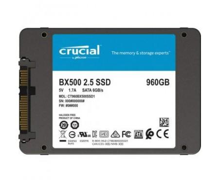 Накопитель SSD 2.5 960GB MICRON (CT960BX500SSD1)