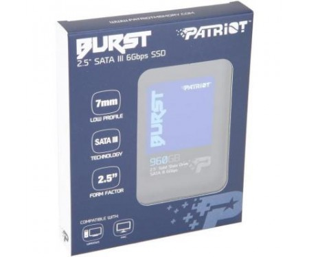 Накопитель SSD 2.5 960GB Patriot (PBU960GS25SSDR)
