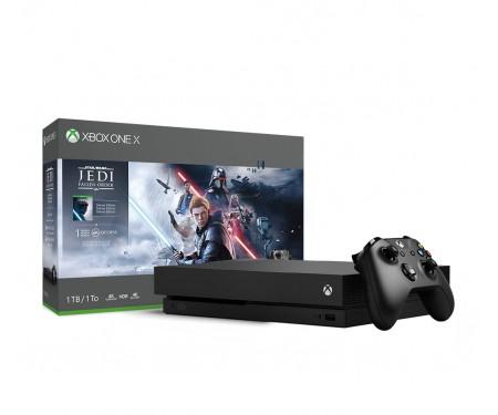 Игровая приставка Microsoft Xbox One X 1TB + Star Wars Jedi: Fallen Order Deluxe Edition