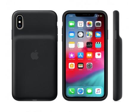 Чехол для Apple iPhone XS Smart Battery Case Black (MRXK2) 3