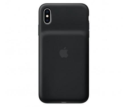 Чехол для Apple iPhone XS Smart Battery Case Black (MRXK2) 1