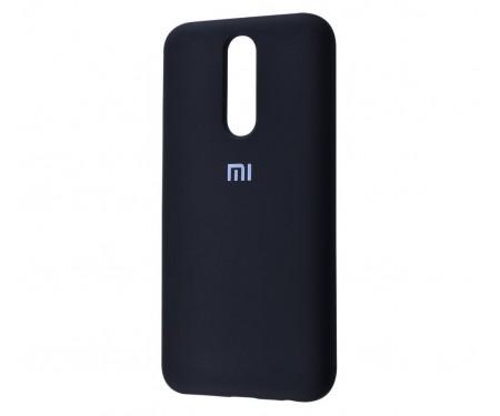 Чехол для Xiaomi Redmi 8 Silicone Cover Black